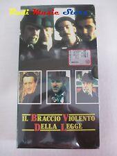 film VHS IL BRACCIO VIOLENTO DELLA LEGGE CARONATA L'UNITA' 1971 (F21*)  no dvd