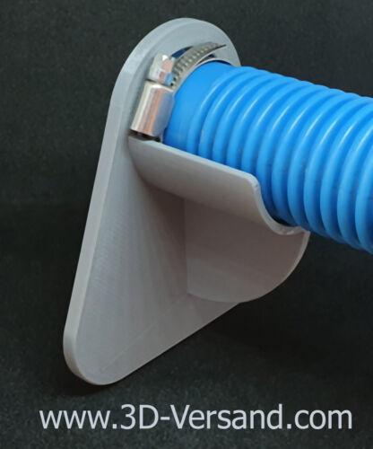 komp Intex 38mm Pool Schlauchhalter grau Bestway Knickschutz für den Pool