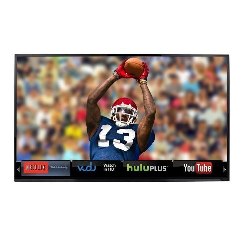"Vizio E551i-A2 55/"" Smart LED HDTV 1080p with Remote WiFi Apps No Stand"