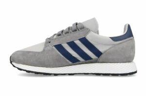 Detalles de Adidas Originals Para Hombre Zapatillas Running Calzado  deportivo Bosque Grove Gris- ver título original