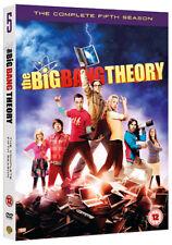The Big Bang Theory - Season 5 (DVD + UV Copy) Johnny Galecki, Jim Parsons, Kale