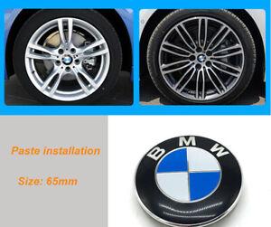 65mm-Rad-Nabendeckel-Aufkleber-Radzierdeckel-BMW-Logo-Radabdeckung-Fuer-BMW