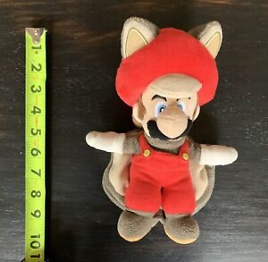 Flying Squirrel Mario Plush Stuffy. Used.