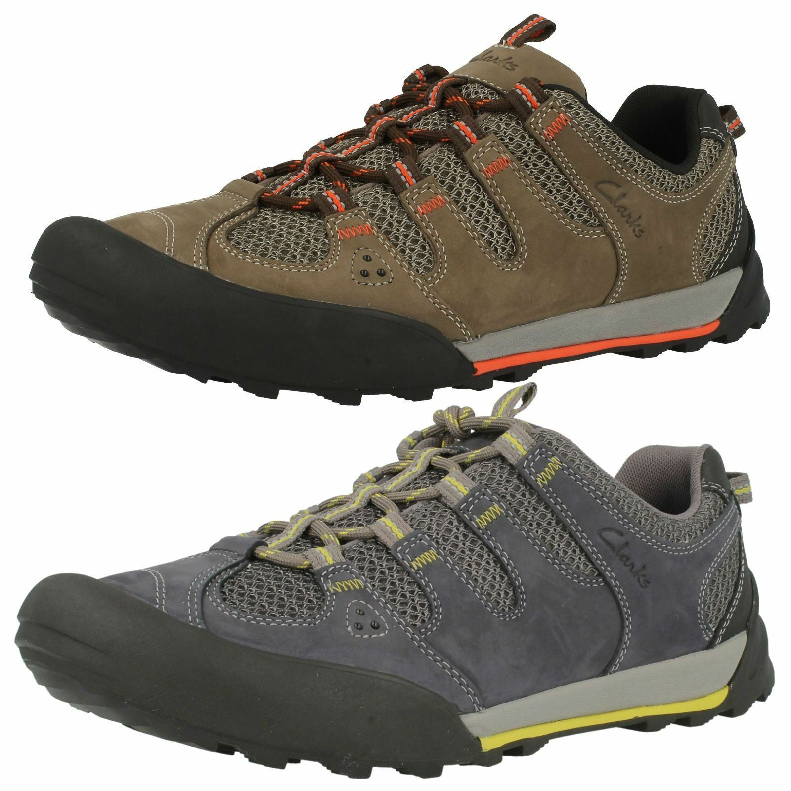 Mens Active Clarks Active Mens Wear Trainers Outlay Compass f72d87