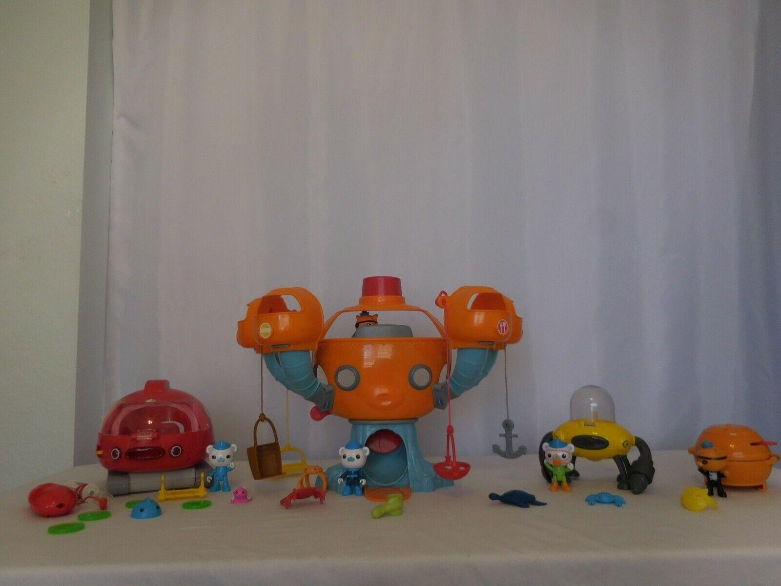 Fisher Price Octonauts Octopod Play Set Talking Sounds