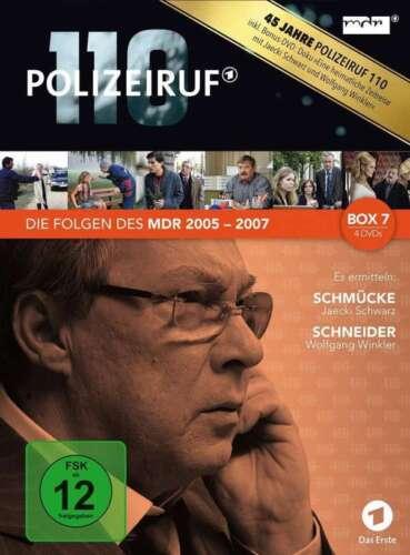 1 von 1 - Polizeiruf 110 - Box 7 - Die Folgen des MDR - 2005 - 2007 - 3 DVD Box