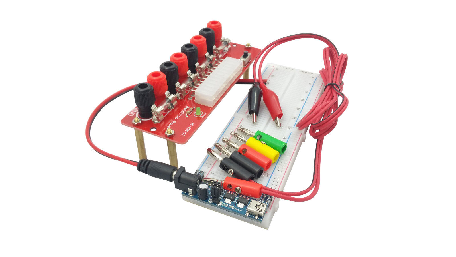 Atx Computer Power Supply Breakout Board Adapter