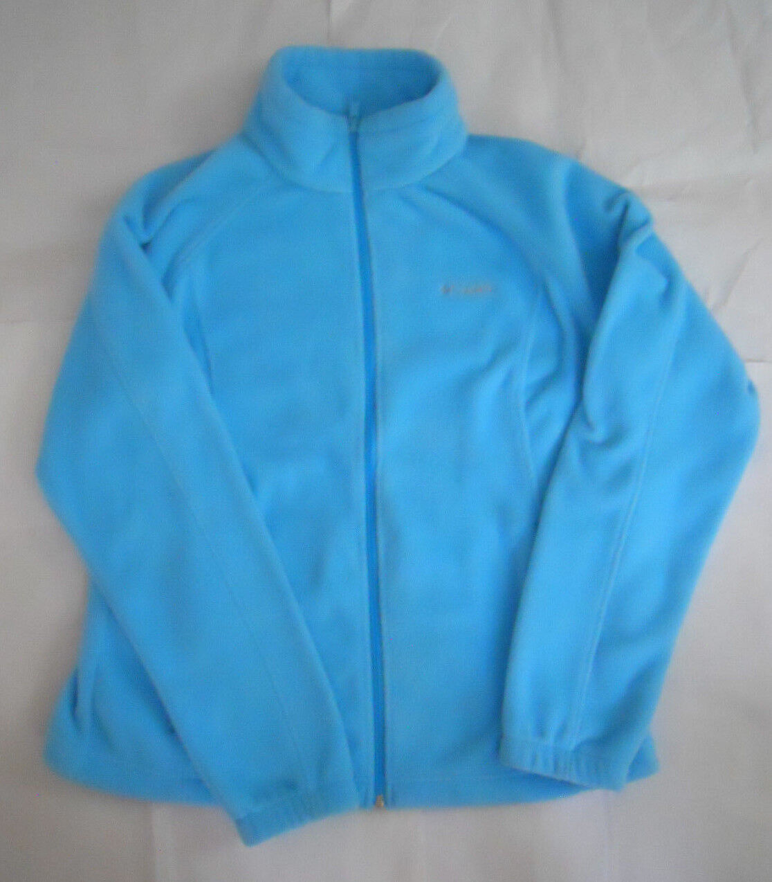 Columbia Full Zip Fleece Light bluee Size XL Women's new