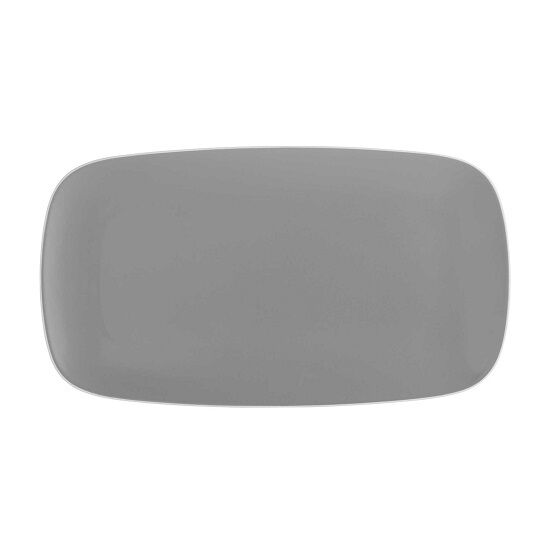 Nambe POP Rectangular Platter in Slate
