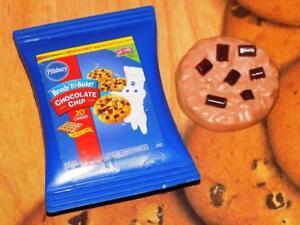 Pillsbury Dough Boy Chocolate Chip Cookie Mix Play Food Lot Kids Baking Set Rare Ebay
