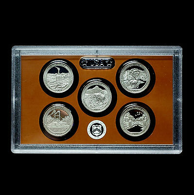 2010 2011 2012 S America the Beautiful National Parks ~ Clad Sets in Lens Cases