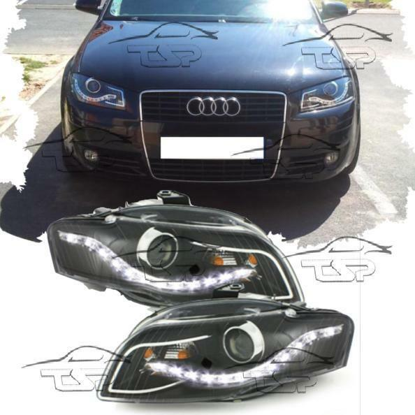 Audi A3 8p Headlights