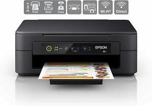 All In One Colour Printer Epson Expression Home Print Scan Copy Wi Fi Black New Ebay