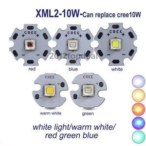 CREE-XML2-XM-L2-10W-White-red-green-blue-yellow-High-Power-LED-chip-16-20mm-PCB