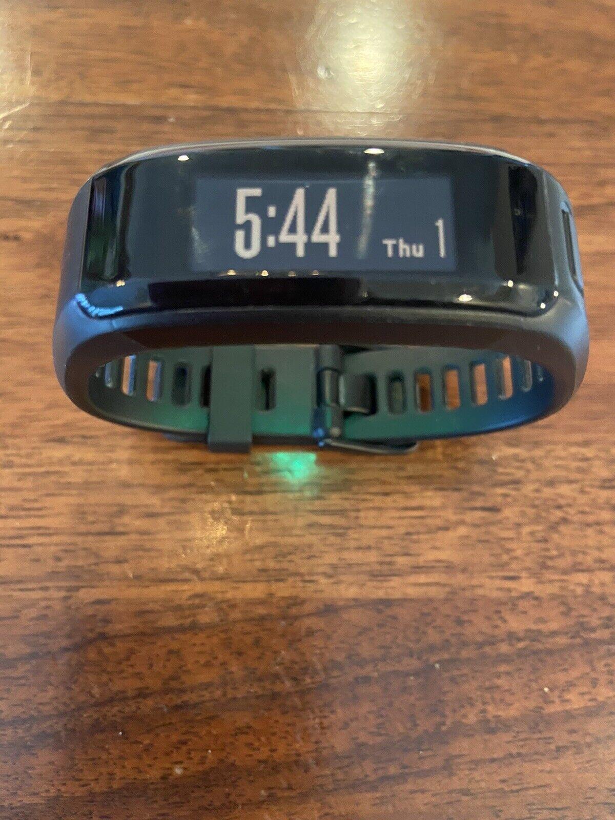 Garmin VivosmartHR Activity Tracker Black Regular Fit With Charger  Nice!