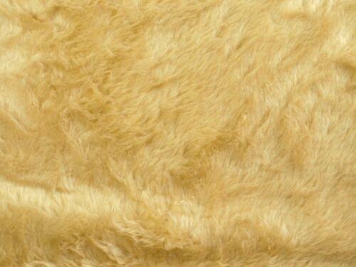 Flauschstoff camel Teddy glatt ca.150cm Plüsch