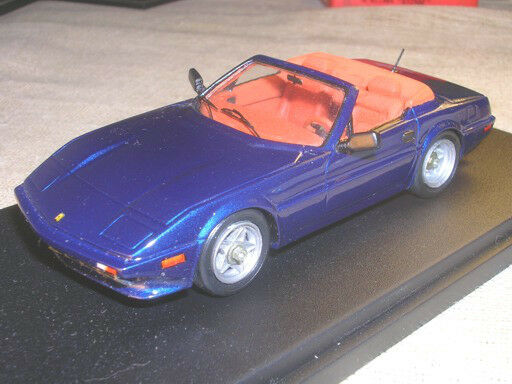 FERRARI 365 GTB 4 SPIDER NART MICHELOTTI 1972  WITH GRILLE ROAD CAR MOG 1 43