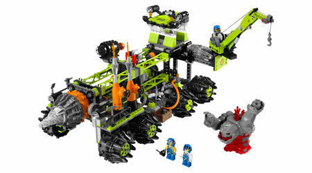 LEGO Power Miners Titanium Command Rig  8964  FREE SHIP USA ONLY