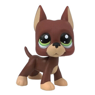Rare Pet Shop Chocolate Great Dane Dog Lps Toys 1519 Animals Figures Ebay