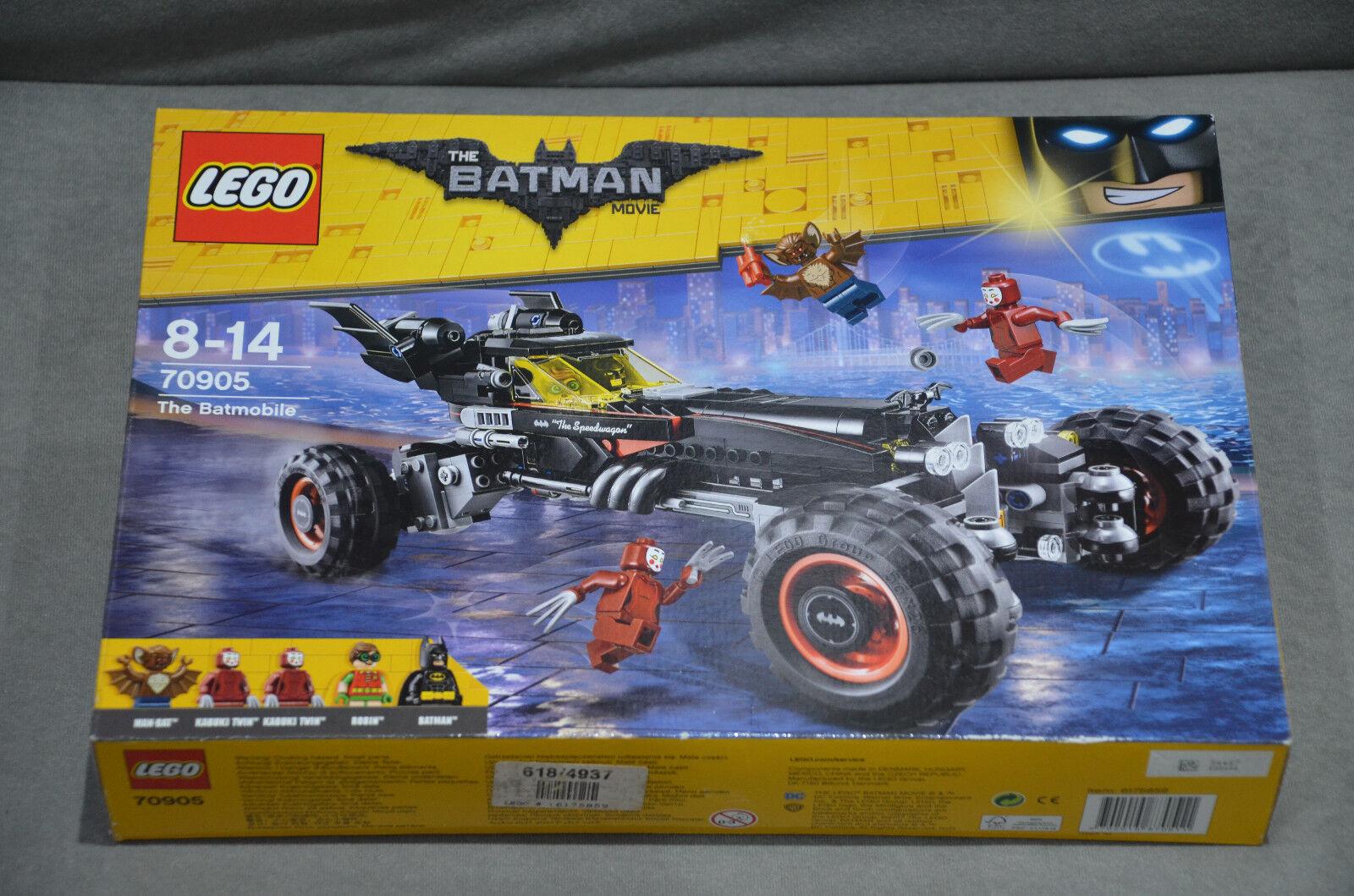 Lego 70905 THE BATMAN LA BATMOBILE 581 pcs 2017 neuf en boîte scellée
