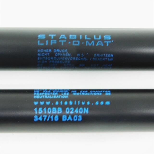 2x Stabilus Lift O Mat Gas Compression Spring Damper for Trunk BMW 8 Er E31