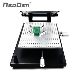 Details about PCB Solder Paste Printer Frameless Type for SMT Prototyping