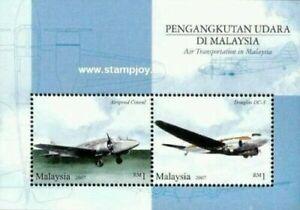 SJ-Air-Transportation-In-Malaysia-2007-Aviation-Aeroplane-ms-MNH