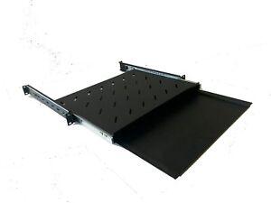 1U-Keyboard-amp-Mouse-Drawer-Suit-600mm-Deep-19-034-Rack-Adjustable-Depth