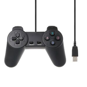 a8fd450418e3 Details about USB 2.0 Gaming Gamepad Joystick Wired Game Controller For  Laptop Computer PC y
