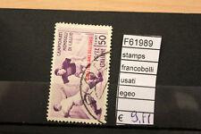 FRANCOBOLLI STAMPS EGEO USATI (F61989)