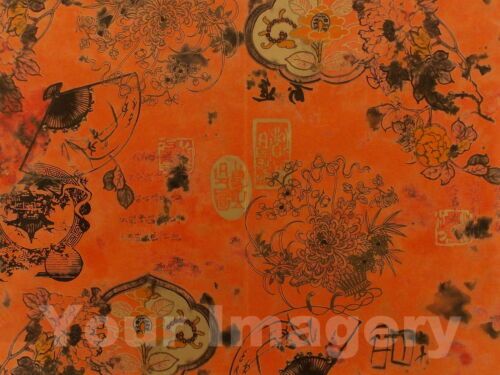 Decopatch papier Full Sheets for DECOUPIS choisir parmi de nombreux orange /& rouge Designs!