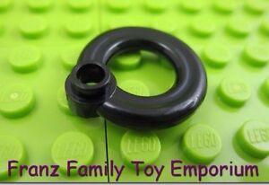 Lego 5 New Reddish Brown Minifigure Utensil Flotation Ring Life Preserver Piece