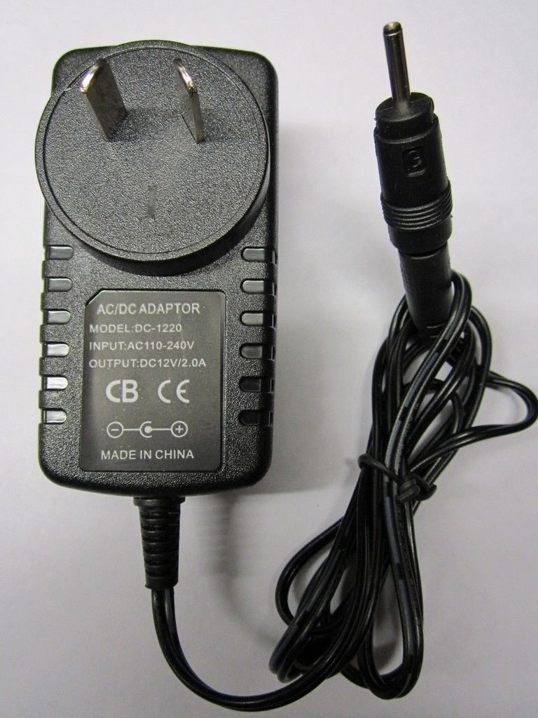 AUS 12V Acer Iconia W501 Tab Tablet Mains AC-DC Adaptor Power Supply Charger