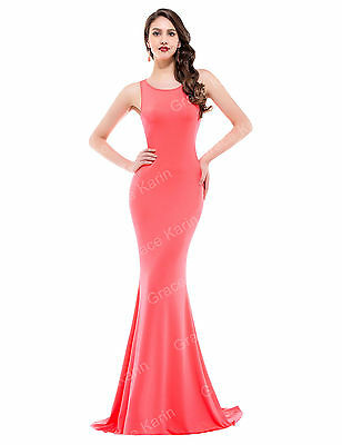 2015 PLUS SIZE Bridesmaid Long Prom Dress Cocktail Party Evening Formal Gown NEW