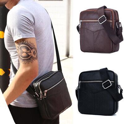 Genuine Leather Crossbody Men Messenger
