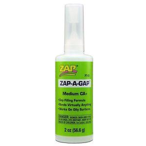 Zap-A-Gap CA+ 2 oz. Bottle - PT-01 Bundle of 6 (One Box)