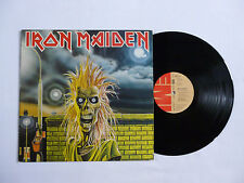 IRON MAIDEN ~ S/T DEBUT VINYL LP ~ 064-07 269 ~ EX/VG ~ 1980 GERMAN 1ST PRESS
