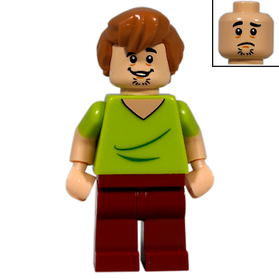 Shaggy Rogers LEGO Minifigure Lot *B Scooby-Doo 75904 75902