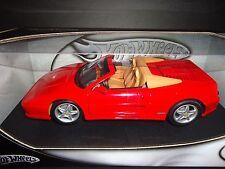 Hot Wheels Ferrari F355 Spider Red 1/18