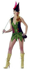 California Costume Sexy Forest Bandit Robin Hood Mistress Costume Size Small