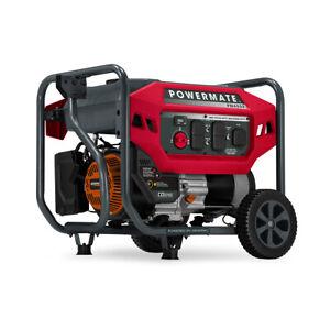 Powermate 8120 - PM4500 4,500 Watt Portable Generator, CO Sense 50ST