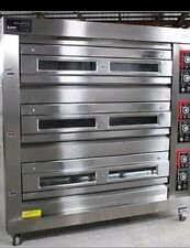 3 Deck Oven Gas With 9trays