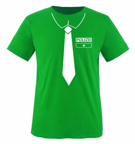 Kinder T-ShirtFASCHING Comedy Shirts POLIZEI KOSTÜM