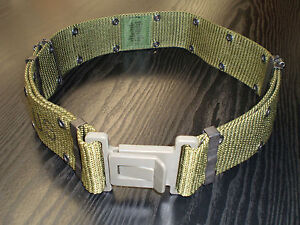 US-Military-Webbing-Belt-LC-2-ALICE-Size-Medium-Plastic-Buckle-NEW