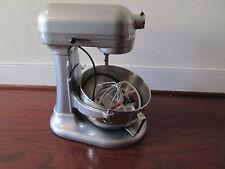 KitchenAid Pro Stand Mixer 450-W 5-QT KV250XMC All Metal Metallic Chrome NIB