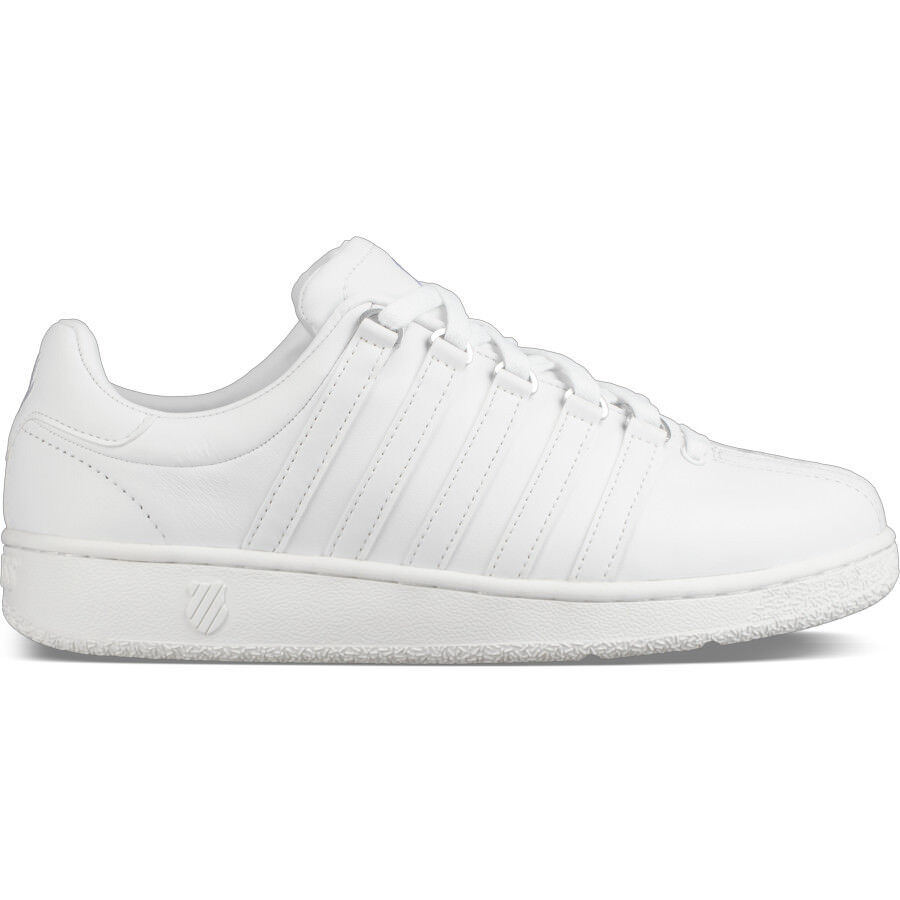 K Swiss Classic VN White White For Men's Size 8 to 13 New In Box 03343-101