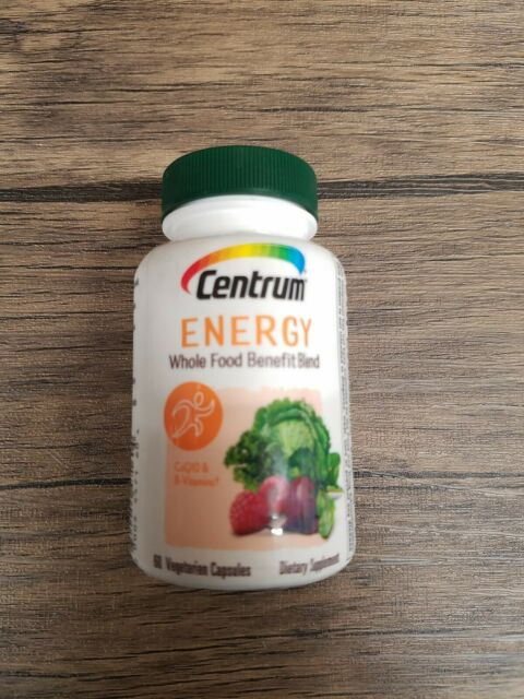 Centrum Energy Supplement B Vitamins Support Energy 30 Day Supply 60 Capsules For Sale Online Ebay