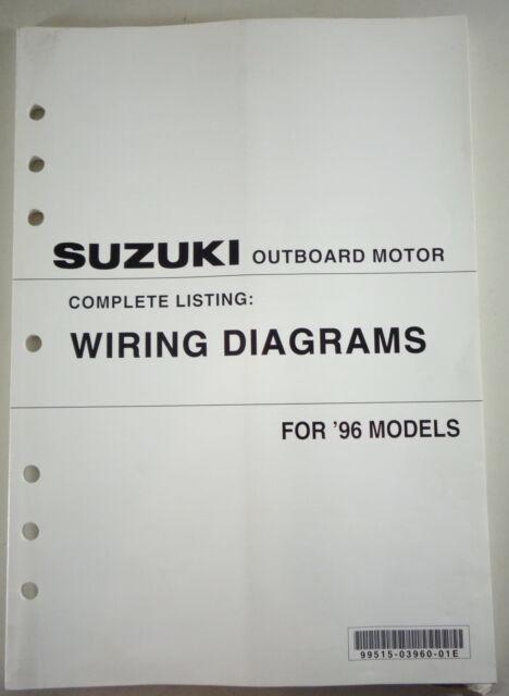Wiring Diagrams Suzuki Outboard Motor For 1996 Models | eBay