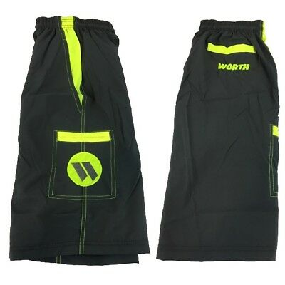 Worth Microfiber Shorts GREY//Volt 2XL