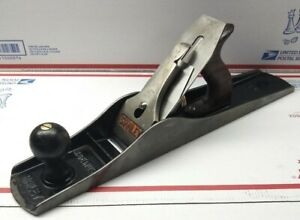 Old-Stanley-Bailey-No-6-Smooth-Bottom-Fore-Plane-Type-16-USA-woodworking-tool